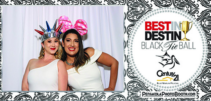 Black Tie Ball Photo Booth
