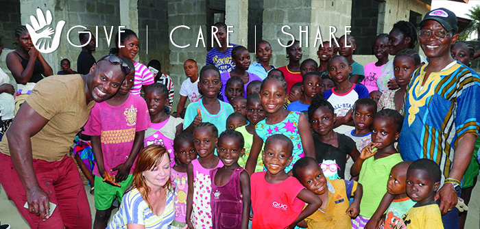 Give, Care, Share – Zhalman & Janet's Trip to Liberia