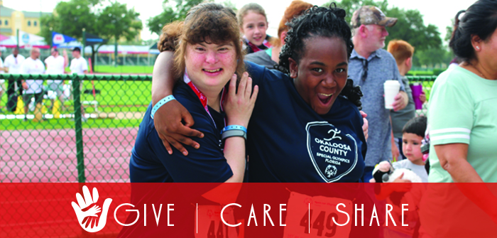 Give Care Share – Special Olympics Florida