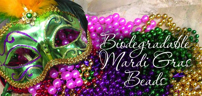 Biodegradable Mardi Gras Beads
