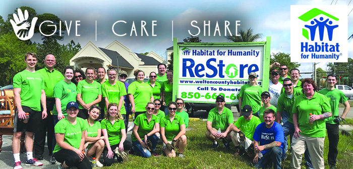 Give Care Share – Habitat for Humanity
