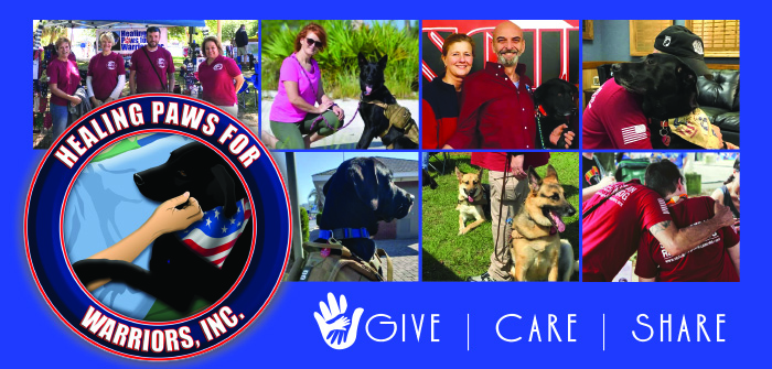 Healing Paws for Warriors, Inc.